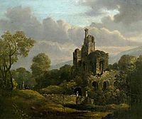 Landscape with a Ruined Castle, shayer