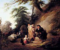 Travelers Resting, shayer