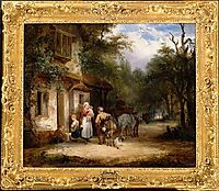 The Traveller-s Rest, 1825, shayer