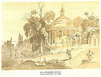 Askold-s Grave, 1846, shevchenko