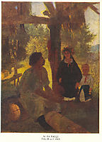 At apiary, 1843, shevchenko