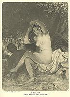 Bathsheba, 1860, shevchenko