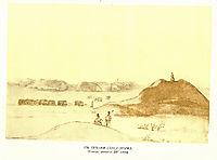 Chumaks among graves, 1844, shevchenko