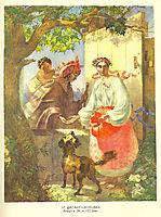 A Gypsy Fortune Teller, 1841, shevchenko