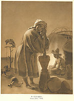 Kazakh woman, 1856, shevchenko