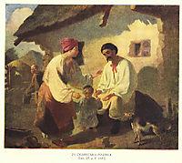 Peasant family, 1843, shevchenko