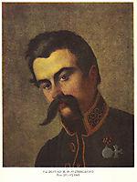 Portrait of Y. F. Rudzinsky, 1845, shevchenko