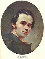 Self portrait, 1841, shevchenko