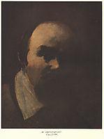 Self portrait, 1859, shevchenko