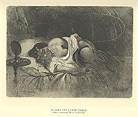Solitude in her own house, 1859, shevchenko