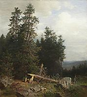 At the edge of the forest, shishkin