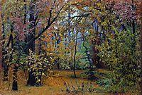 Autumn forest, 1876, shishkin