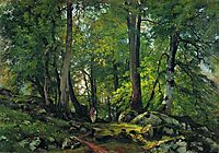 Beech Forest in Switzerland, 1863, shishkin