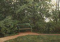 Bench at the mall, 1872, shishkin