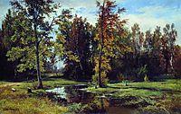 Birch forest, 1871, shishkin