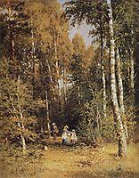 Birch Grove, 1878, shishkin