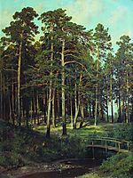 Bridge in the Forest, 1895, shishkin