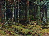 Dark Forest, 1890, shishkin
