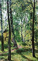 Deciduous Forest, 1897, shishkin