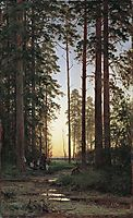 Edge of the Forest , 1879, shishkin