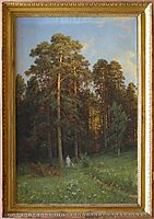 The Edge of a Pine Forest, shishkin