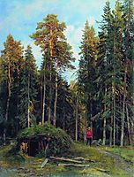 Evening, 1892, shishkin