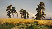 The Field of Wheat , 1878, shishkin