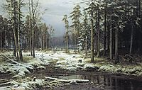 First Snow, 1875, shishkin