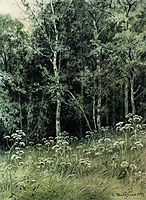 Flowers in the forest, 1877, shishkin