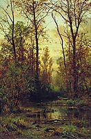 Forest. Autumn, shishkin