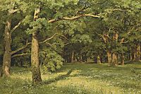The Forest Clearing, 1896, shishkin