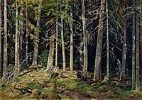 Forest. Mounds, 1888, shishkin