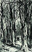 Forest path, 1863, shishkin