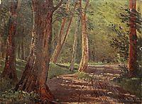 Forest road, 1892, shishkin