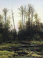 Forest in spring, 1884, shishkin