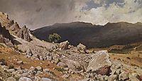From the vicinity of Gurzuf, 1879, shishkin