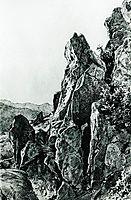Gurzuf. Rocks, 1879, shishkin