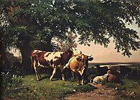 Herd under the trees, 1864, shishkin
