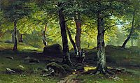 In the Grove, 1865, shishkin