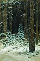 In winter, 1883, shishkin