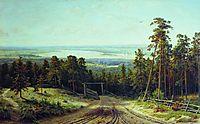 Kama Near Yelabuga, 1895, shishkin
