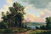 Landscape, 1861, shishkin