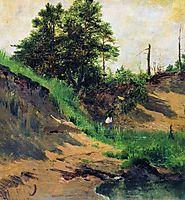 Landscape, 1896, shishkin