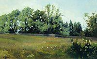 Landscape, 1898, shishkin