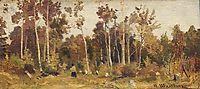 Landscape. Edge of a wood, shishkin