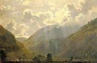 Last Rays, 1865, shishkin