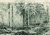 Mast Tree Grove, 1897, shishkin