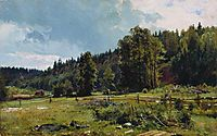 Meadow at the forest edge. Siverskaya, 1887, shishkin