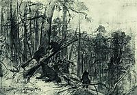 Morning in a Pine Forest, 1886, shishkin