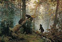 Morning in a Pine Forest , 1889, shishkin